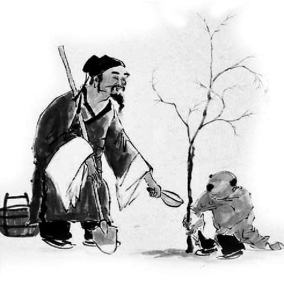 教师报 诗人们的植树情结